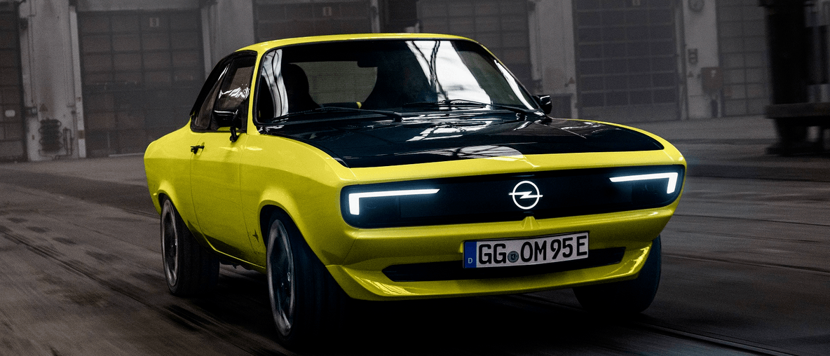 Prvi Opelov ElektroMOD: Manta se vraća