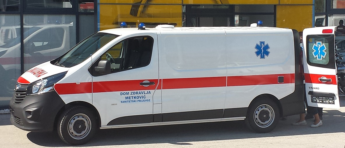 Sanitetska vozila Opel PSC Dalmacija Split