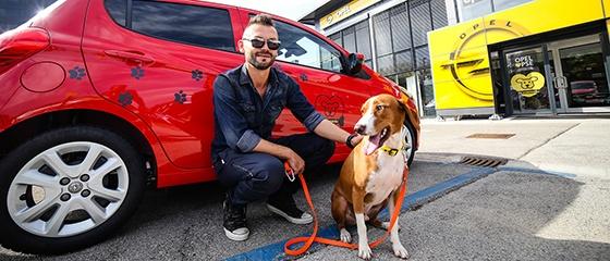 Ivan Dečak i pas Hundač