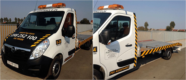 Vozilo za vuču - Opel PSC Osijek