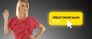 Mila Elegović u Opelovom online salonu