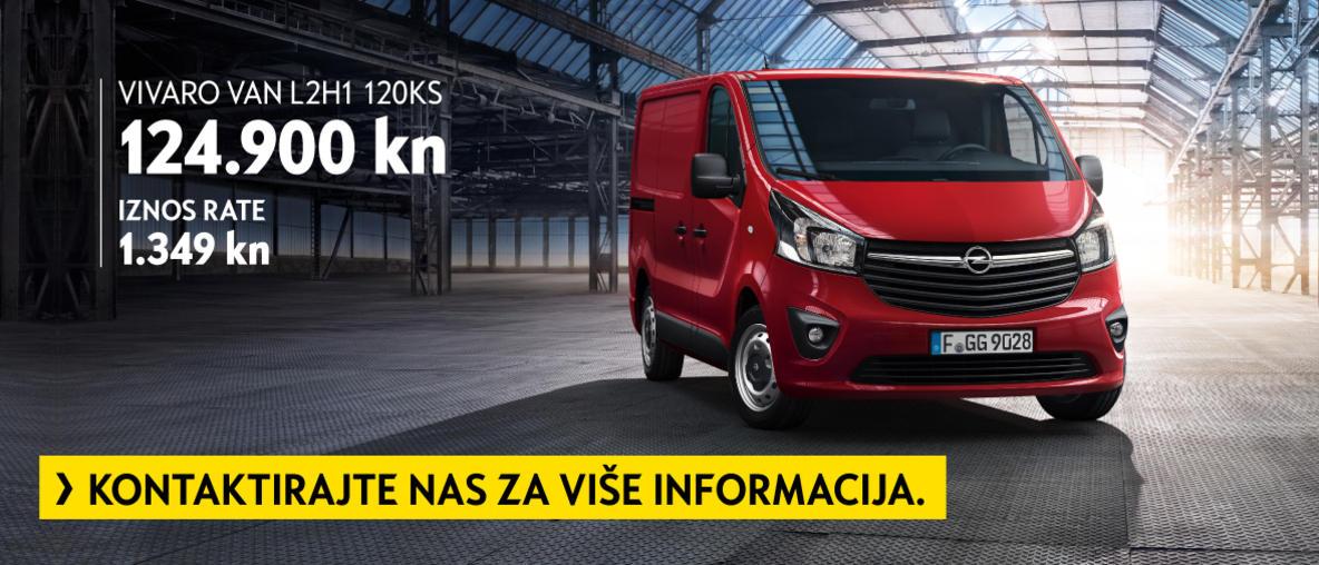 Odlična ponuda za Opel Vivaro Van, PSC Zagreb