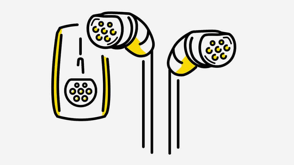 Opel e-mobilnost - Kabeli: Ubrzano punjenje, Ilustracija