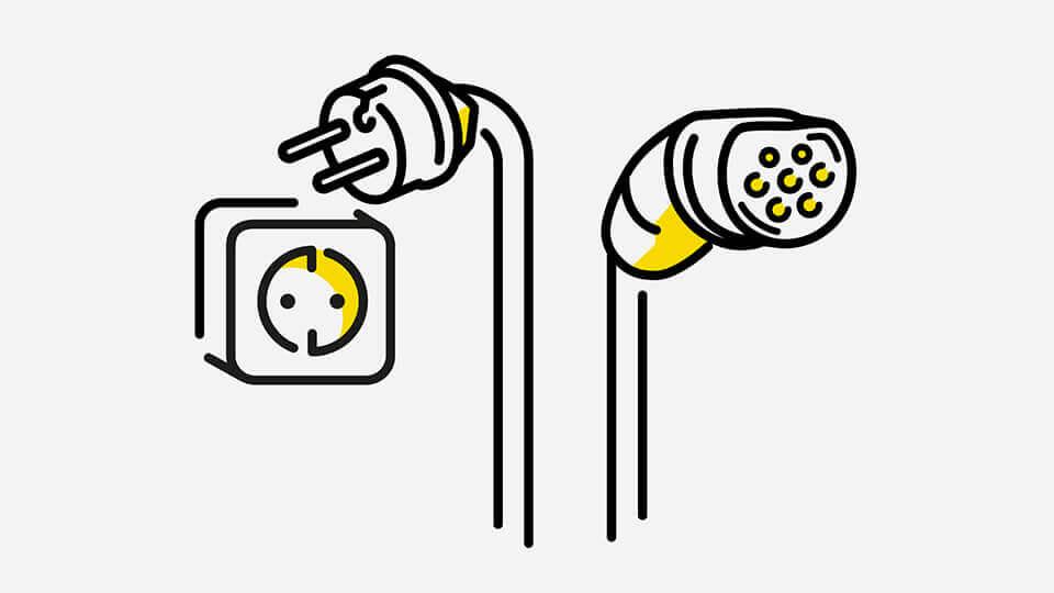 Opel e-mobilnost - Kabeli: Poboljšano kućno punjenje, Ilustracija