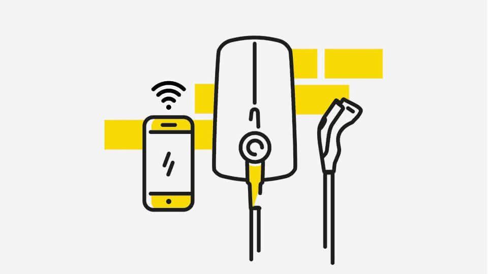 Opel e-mobilnost - Kabeli: Univerzalni punjač, Ilustracija