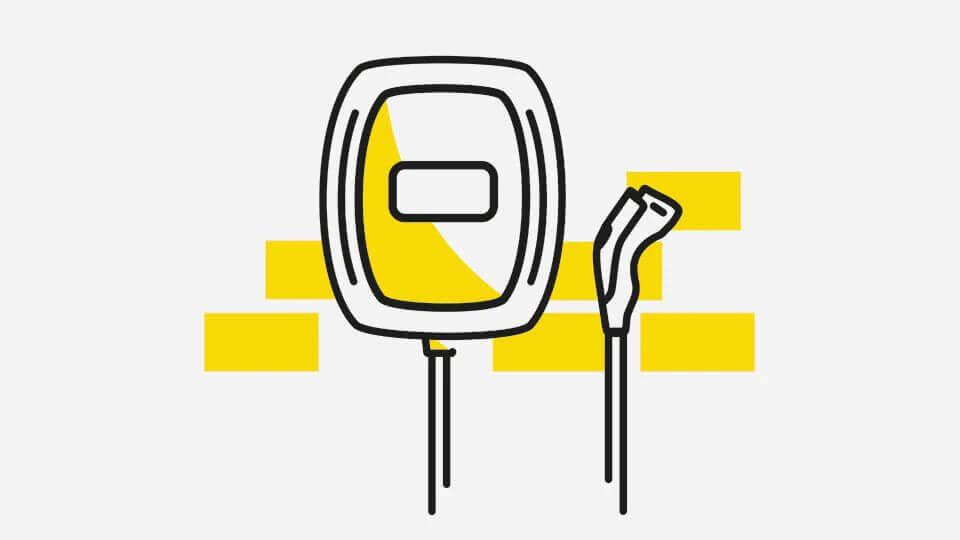 Opel e-mobilnost - Ponuda wall box uređaja, Ilustracija