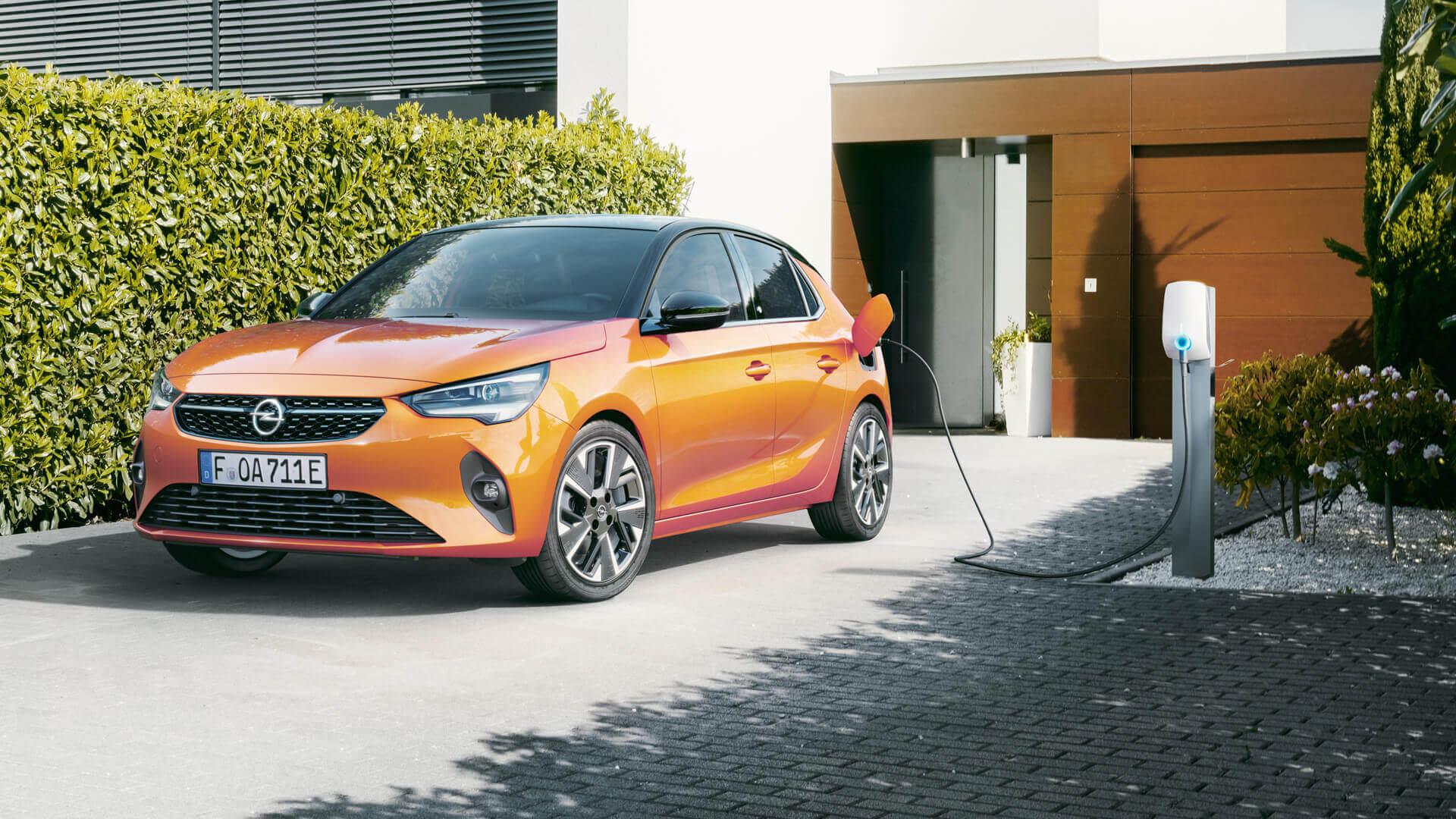 Nabavite svoj Opel wall box uređaj, Corsa-e, punjenje, vanjština